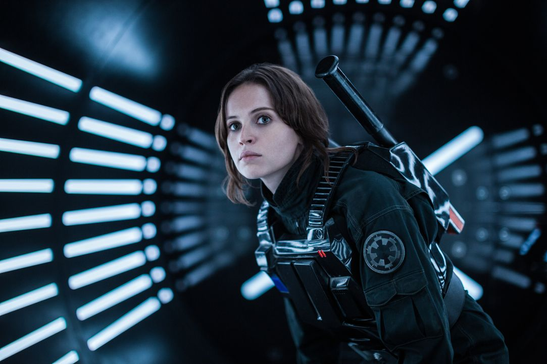Jyn Erso (Felicity Jones) - Bildquelle: Jonathan Olley TM &   Lucasfilm Ltd. / Jonathan Olley