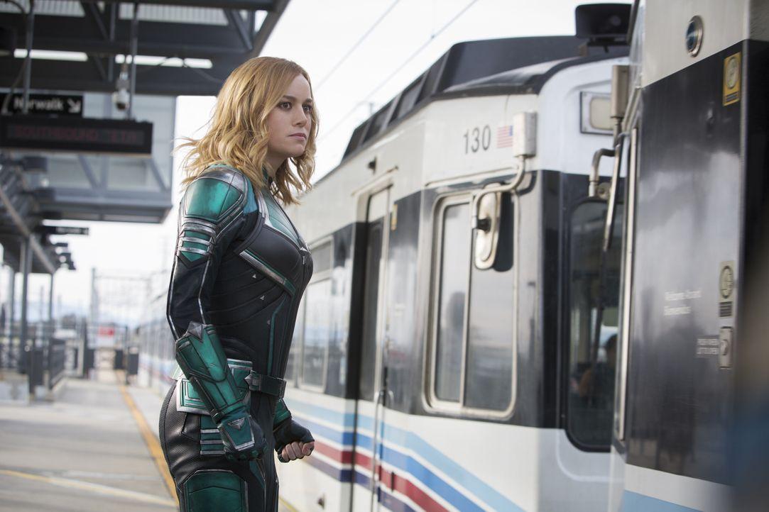 Carol Danvers/Captain Marvel/Vers (Brie Larson) - Bildquelle: Chuck Zlotnick Marvel Studios 2019 / Chuck Zlotnick