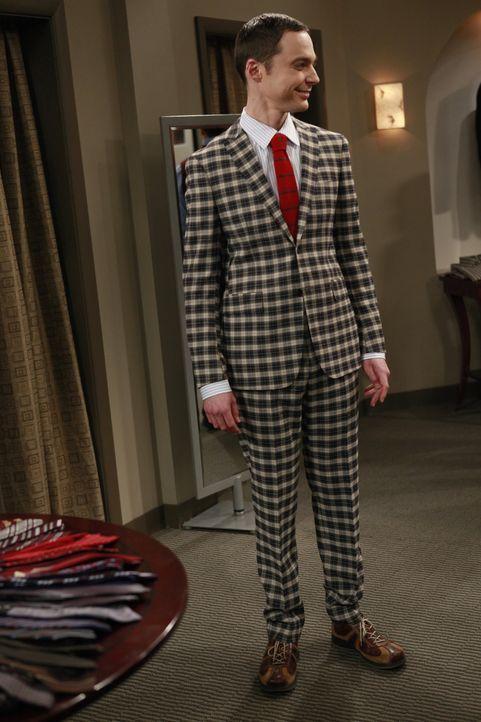 Sheldon (Jim Parsons) hat den diesjährigen Wissenschaftspreis gewonnen. Als er erfährt, dass er auf dem Bankett zu seinen Ehren eine Rede halten s... - Bildquelle: Warner Bros. Television