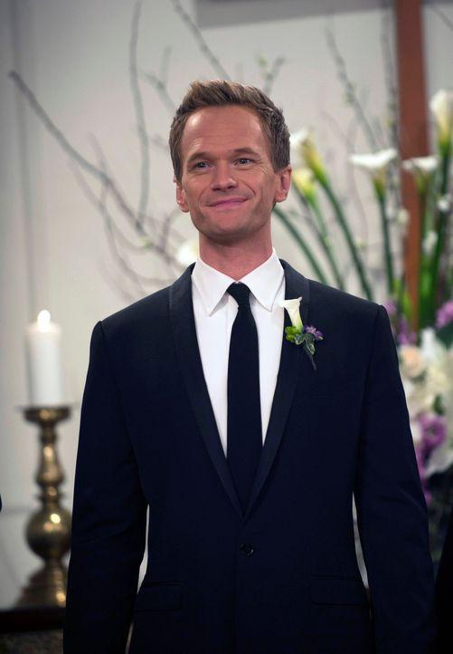 Der lang ersehnte Tag ist gekommen: Barney (Neil Patrick Harris) nimmt Robin zur Frau ... - Bildquelle: 2014 Twentieth Century Fox Film Corporation. All rights reserved.