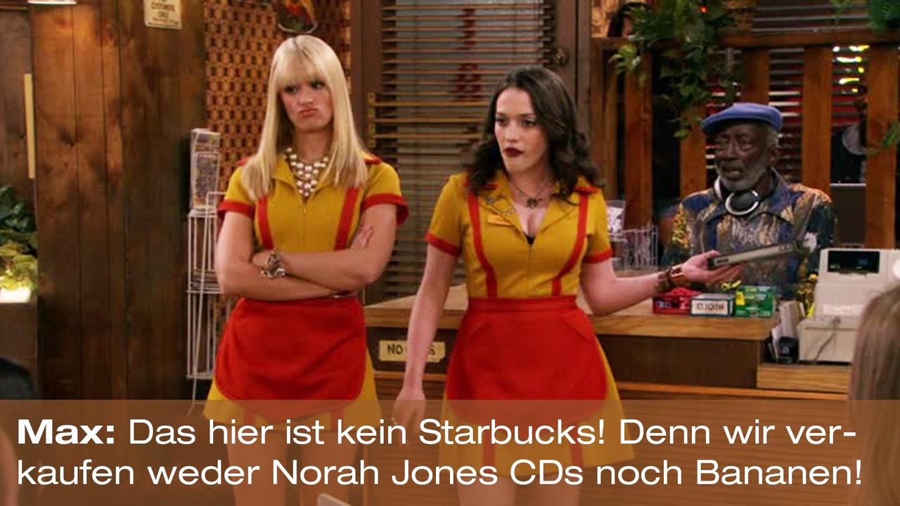 2-broke-girls-zitat-quote-staffel2-episode6-suesse-versuchung-max-starbucks-warnerpng 1600 x 900 - Bildquelle: Warner Brothers Entertainment Inc.