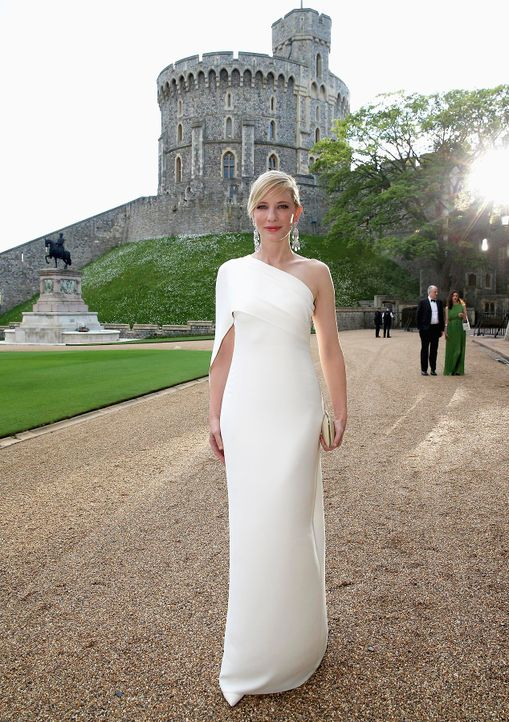Dinner-Prinz-William-Cate-Blanchett-14-05-13-AFP - Bildquelle: AFP