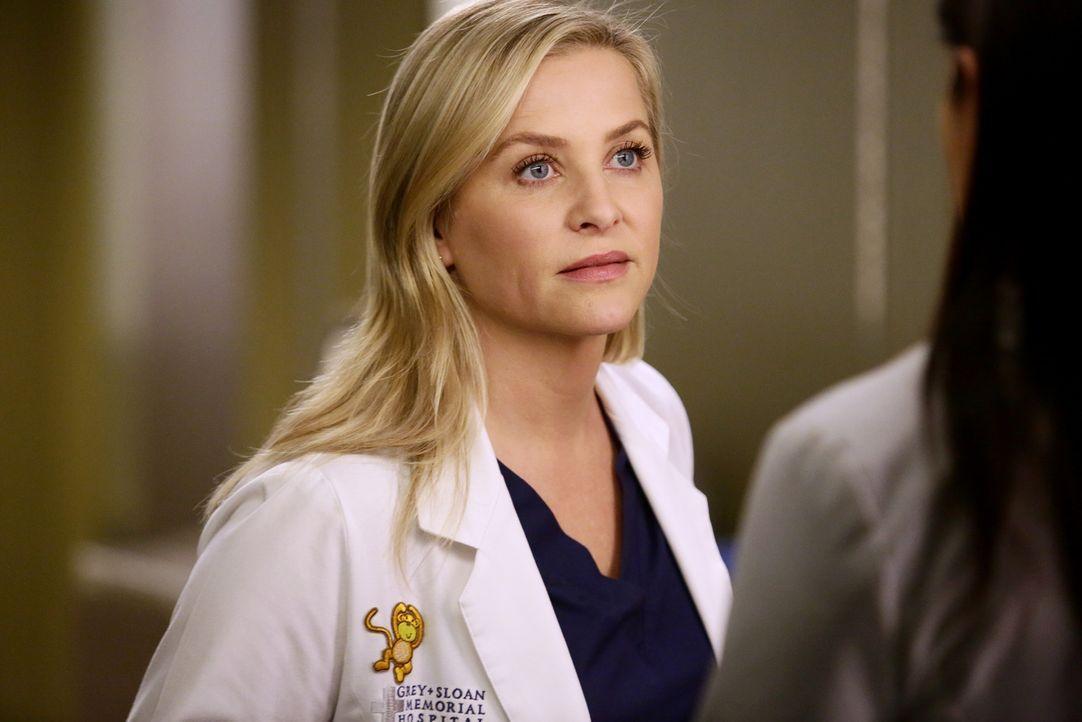Wie wird sie mit der Neuen, Eliza Minnicks, zurecht kommen? Arizona (Jessica Capshaw) ... - Bildquelle: Nicole Wilder 2016 American Broadcasting Companies, Inc. All rights reserved.