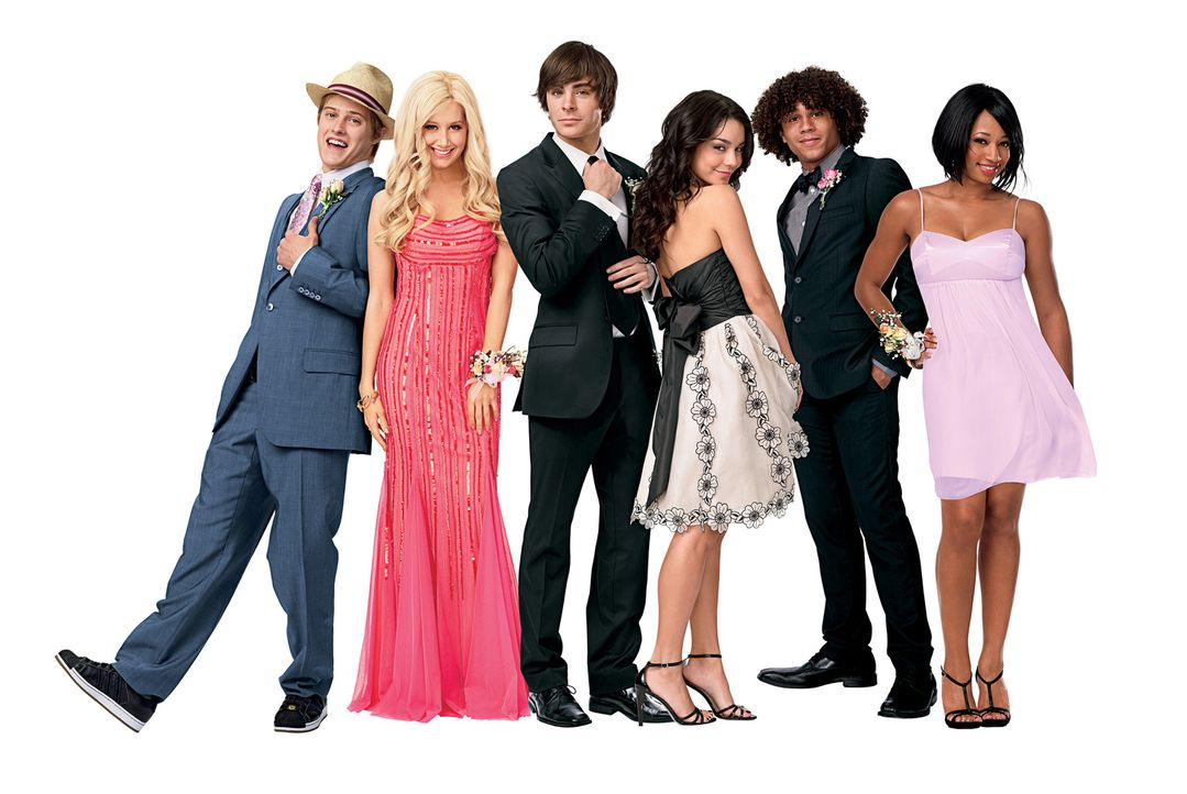 Der Abschluss steht kurz bevor, das heißt nicht nur, dass sich die Freunde (v.l.n.r.) Ryan (Lucas Grabeel), Sharpay (Ashley Tisdale), Troy (Zac Efr... - Bildquelle: Disney Enterprises, Inc.  All rights reserved.