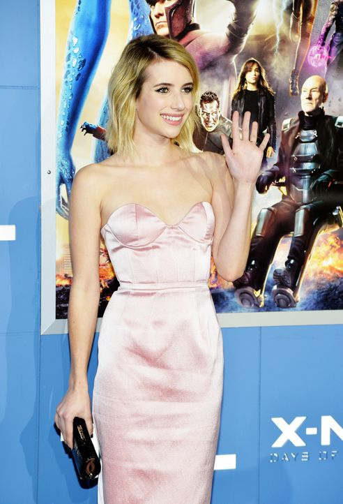 X-Men-Days-of-Future-Past-Premiere-New-York-Emma-Roberts-1-140510-getty-AFP - Bildquelle: getty-AFP
