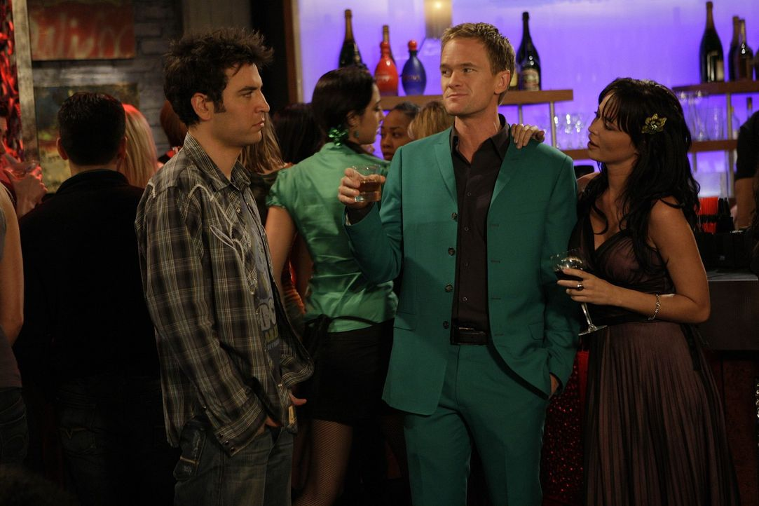 St. Patrick's Day: Ted (Josh Radnor, l.) hat keine Lust, an einer der verrückten Partys dieses Tages teilzunehmen. Doch als Barney (Neil Patrick Ha... - Bildquelle: 20th Century Fox International Television
