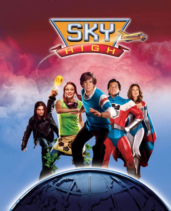 Sky High - Diese Highschool hebt ab! - Plakatmotiv - Bildquelle: Walt Disney Pictures. All rights reserved