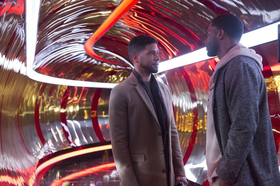 """Während Andre seine Großmutter trifft, beginnt Jamal (Jussie Smollett, l.) eine heiße Affäre mit Derek """"D-Major"""" Major (Tobias Truvillion, r.). Doch... - Bildquelle: Chuck Hodes 2015-2016 Fox and its related entities.  All rights reserved."""