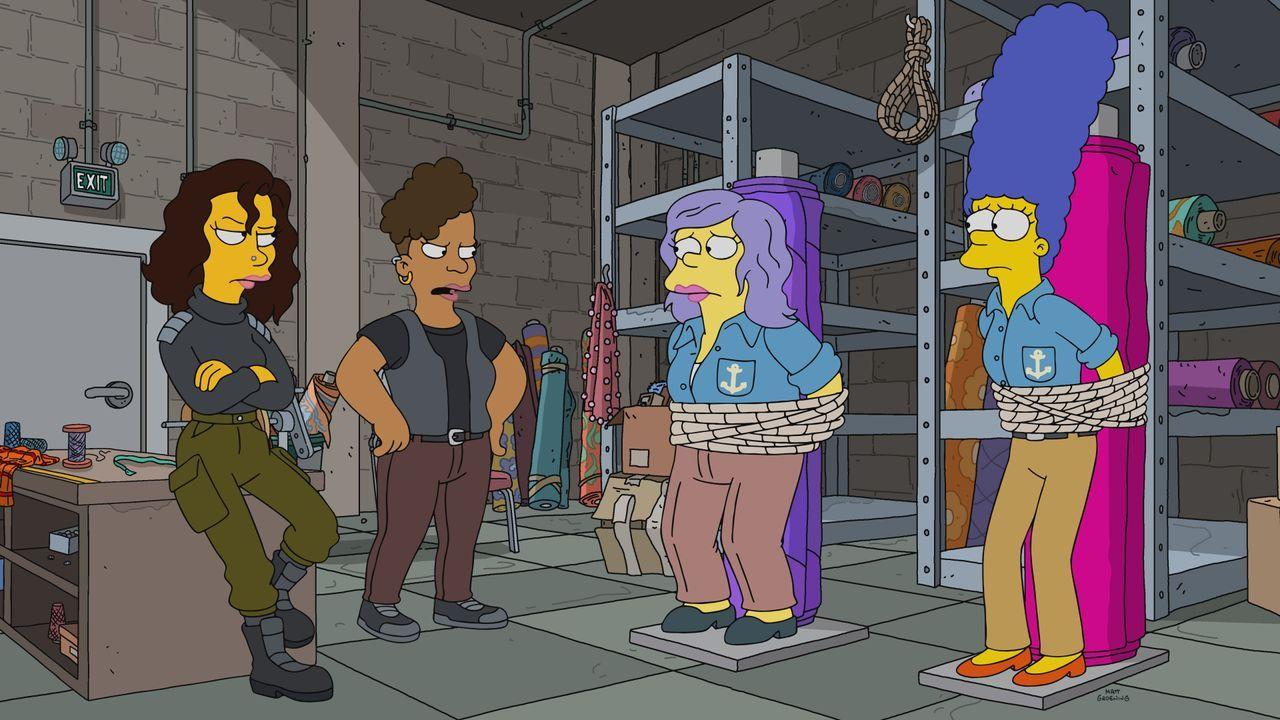 (v.l.n.r.) Erin; Bette; Sarah; Marge - Bildquelle: 2021 by 20th Television.