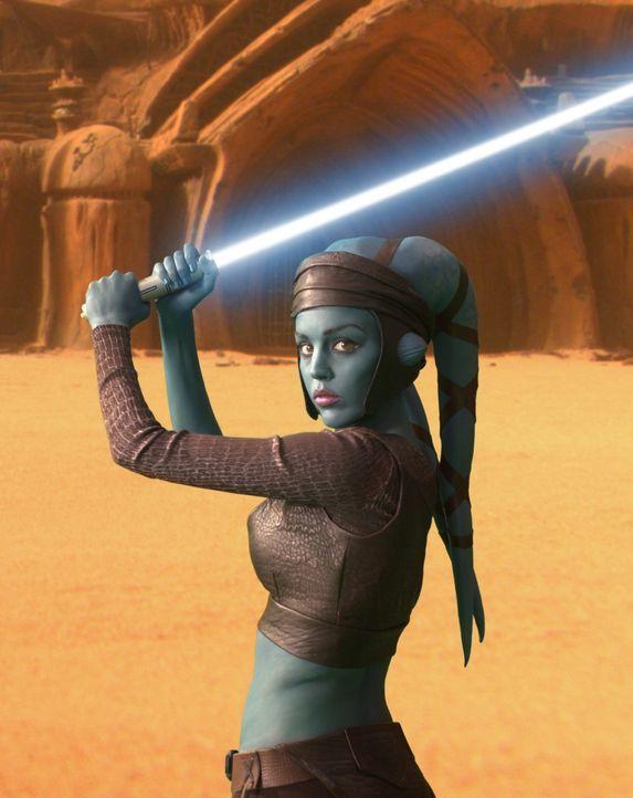 Als sich etliche Planetensysteme unter der Führung des ehemaligen Jedi-Meisters Count Dooku von der Republik abspalten, verliert das Machtgefüge d... - Bildquelle: Lucasfilm Ltd. & TM. All Rights Reserved.