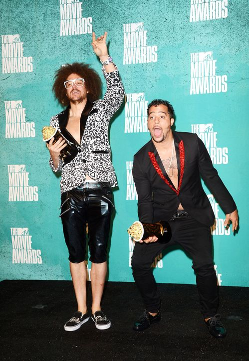 mtv-movie-awards-red-foo-sky-blu-lmfao-12-06-03-getty-afpjpg 1376 x 1990 - Bildquelle: getty-AFP