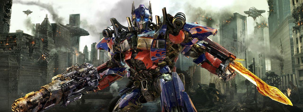 Für Optimus Prime (Bild) und seine Autobots beginnt ein gnadenloses Wettrennen zur Rettung des gesamten Universums ... - Bildquelle: 2010 Paramount Pictures Corporation.  All Rights Reserved.