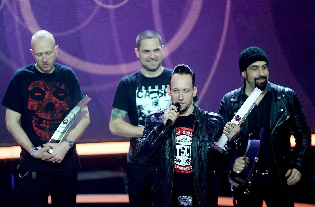 Volbeat-14-03-27-dpa - Bildquelle: dpa