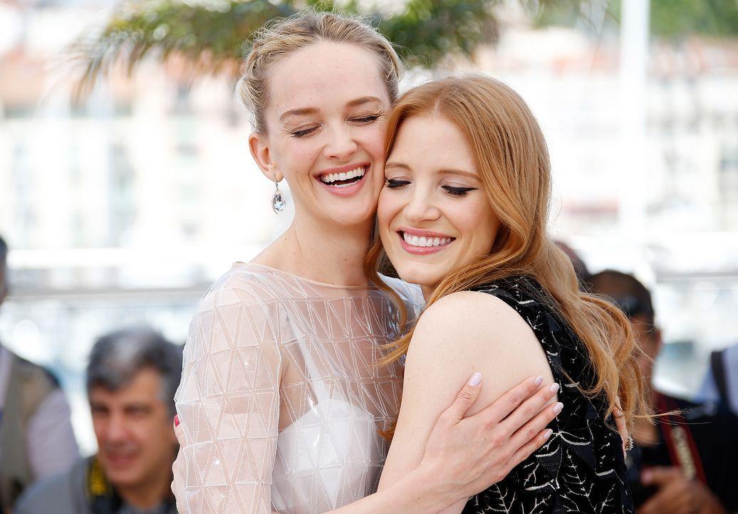 Cannes-Filmfestival-Jess-Weixler-Jessica-Chastain-140518-AFP - Bildquelle: AFP