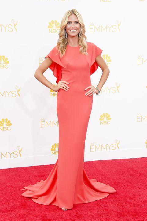 Heidi-Klum-14-08-25-Emmy-Awards-AFP - Bildquelle: AFP
