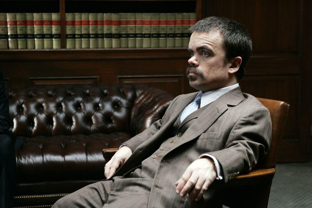 Ben Klandis (Peter Dinklage) ist verzweifelt, denn sein Mandant Jack DiNorsio hat ihm gekündigt, um sich selbst vor Gericht zu vertreten ... - Bildquelle: 2006 Yari Film Group Releasing, LLC