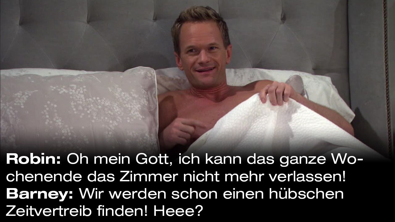 How-I-Met-Your-Mother-Zitate-Staffel-9-27-Barney-Zeitvertreib - Bildquelle: 20th Century Fox Film Corporation all rights reserved.