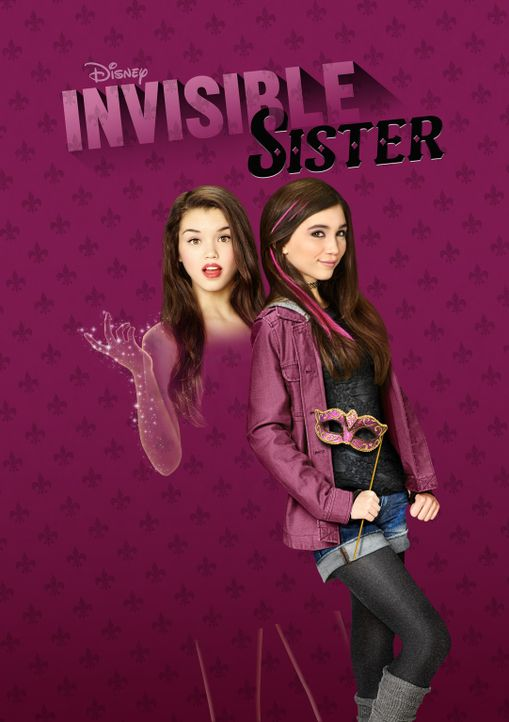 MY INVISIBLE SISTER - Plakatmotiv - Bildquelle: 2015 Disney Enterprises, Inc. All rights reserved.