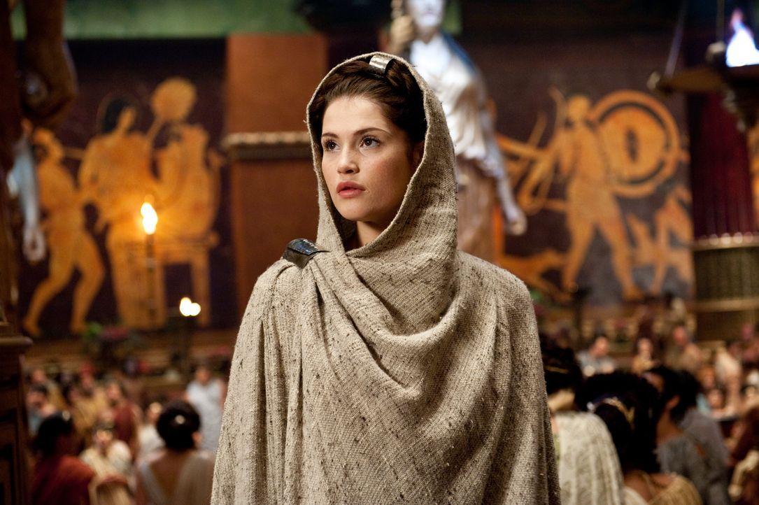 Setzt große Hoffnungen auf den jungen Halbgott Perseus: Io (Gemma Arterton) ... - Bildquelle: 2010 Warner Bros.