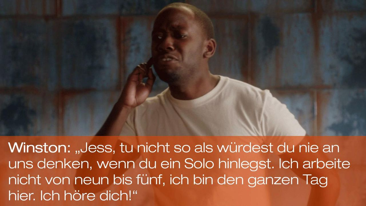 New Girl - Zitate - Staffel 1 Folge 19 - Winston (Lamorne Morris) 1600 x 900 - Bildquelle: 20th Century Fox