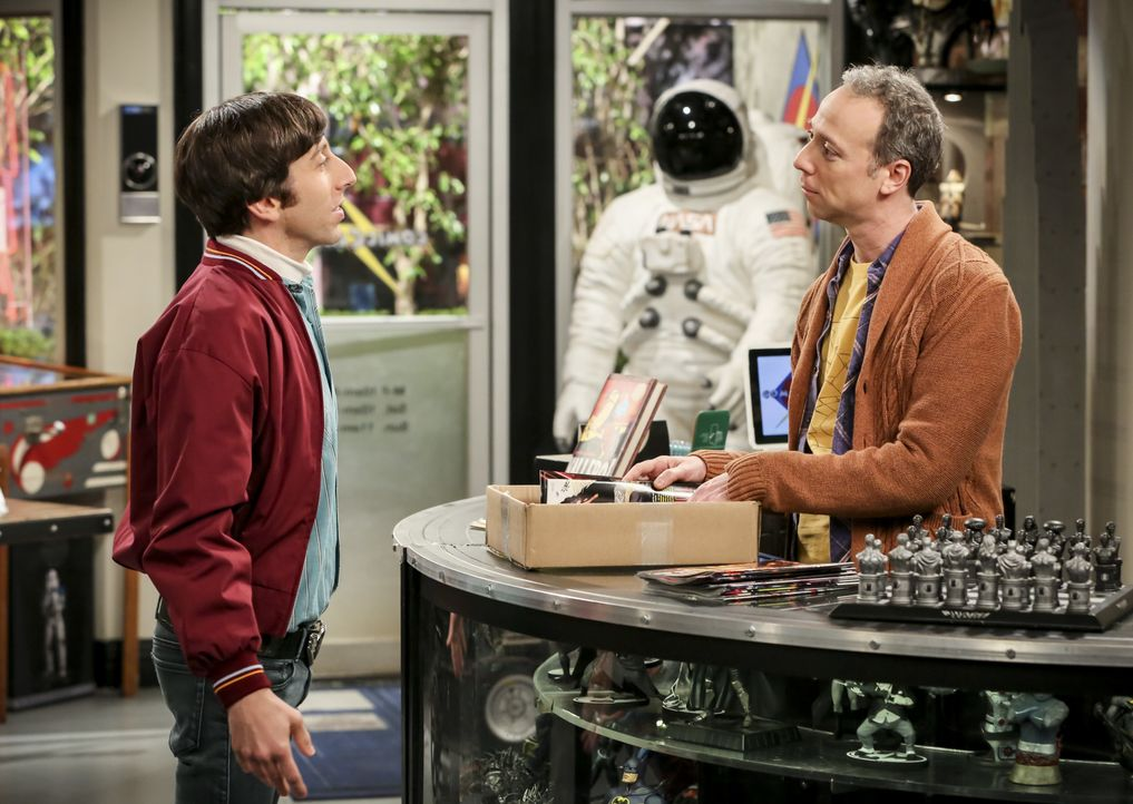 Howard Wolowitz (Simon Helberg, l.); Stuart Bloom (Kevin Sussman, r.) - Bildquelle: Michael Yarish 2019 CBS Broadcasting, Inc. All Rights Reserved / Michael Yarish