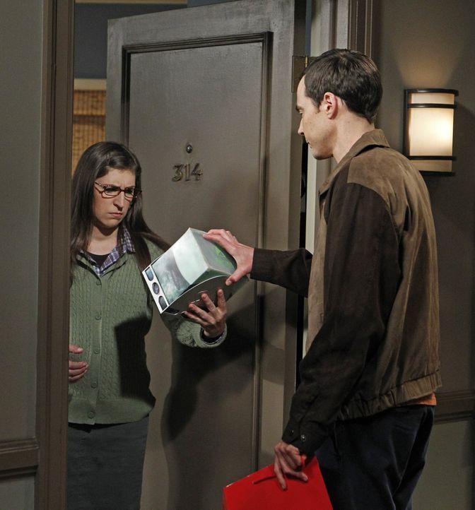 """Will Wheaton möchte Sheldon (Jim Parsons, r.) bei einer neuen Episode """"Spaß mit Flaggen"""" unterstützen. Dabei kommt es zu einem Streit zwischen Sheld... - Bildquelle: Warner Bros. Television"""