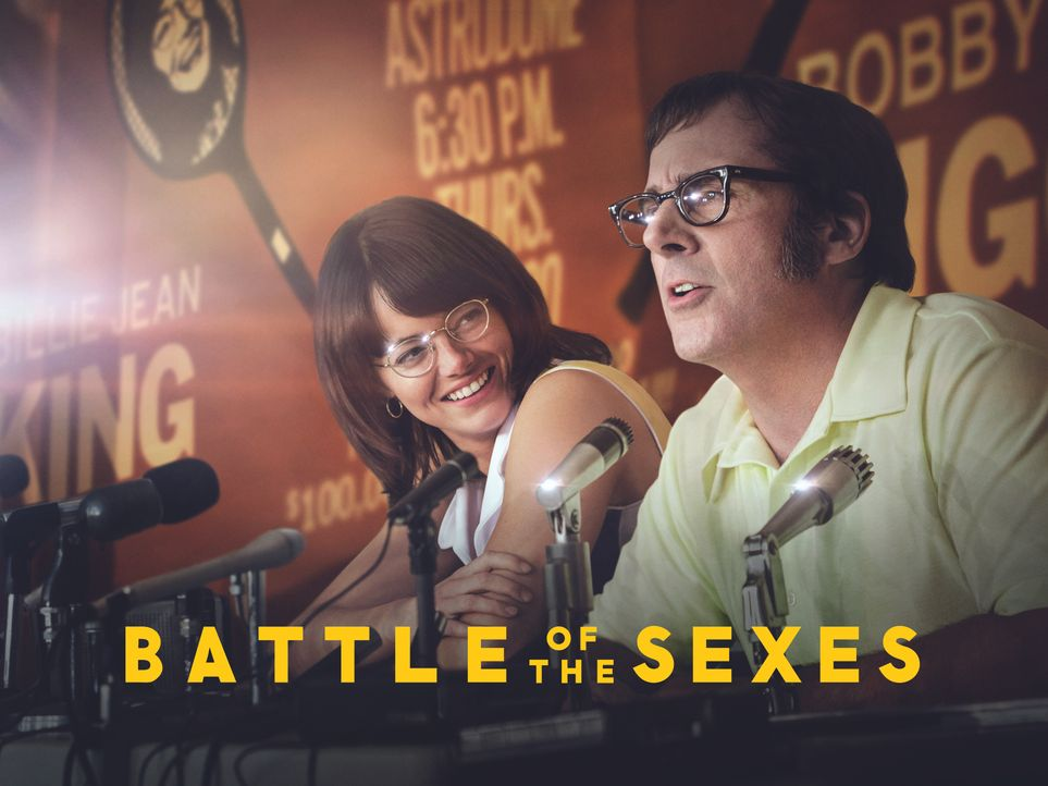 Battle of the Sexes - Gegen jede Regel - Artwork - Bildquelle: Melinda Sue Gordon 2017 Twentieth Century Fox Film Corporation.  All rights reserved. / Melinda Sue Gordon