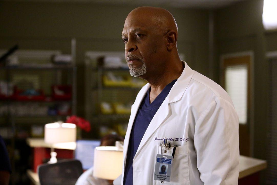 Während Meredith versucht, Alex zu finden, machen Webber (James Pickens Jr.) und die Oberärzte Elizas ersten Tag im Krankenhaus zu einer äußerst sch... - Bildquelle: Nicole Wilder 2016 American Broadcasting Companies, Inc. All rights reserved.