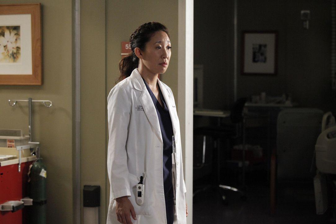 Inmitten des bevorstehenden Gerichtsverfahrens versuchen Cristina (Sandra Oh) und Owen herauszufinden, wo ihre Beziehung steht ... - Bildquelle: ABC Studios