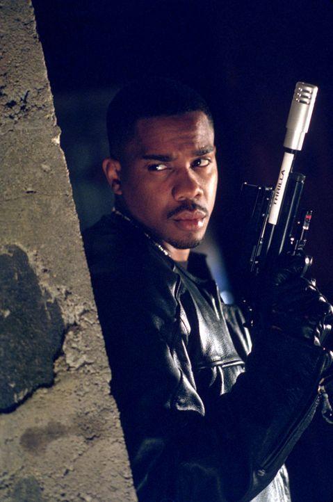 """Gerät an eine Plattenvertriebsfirma mit allerbesten Gangstermanieren: Privatdetektiv Conrad """"Rad"""" McCrae (Duane Martin) ... - Bildquelle: Strange Fruit Films"""