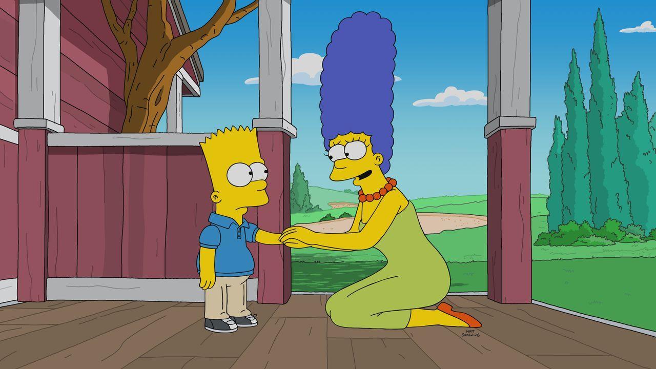 Bart (l.); Marge (r.) - Bildquelle: 2021 by 20th Television.