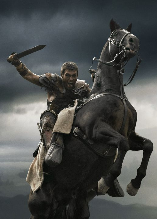 Auf in den Kampf! Spartacus (Liam McIntyre) fürchtet weder den Tod noch seine Gegner - bis Marcus Crassus kommt ... - Bildquelle: 2013 Starz Entertainment, LLC.  All Rights Reserved