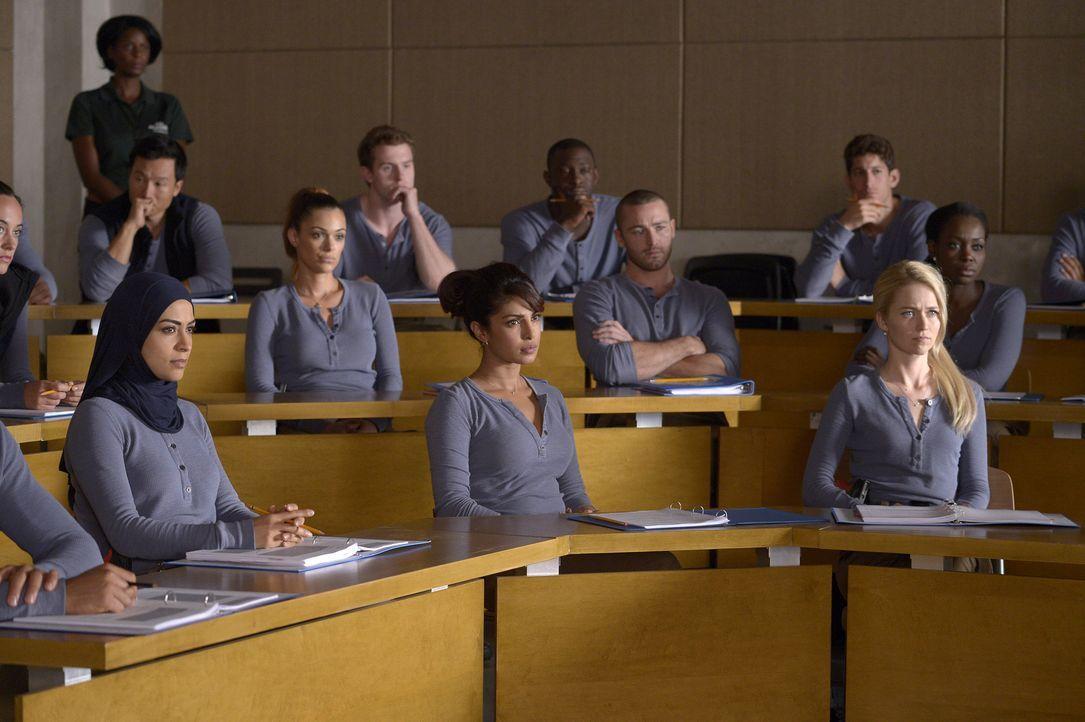 Ihr Training in Quantico geht weiter: Nimah (Yasmine Al Massri, vorne l.), Natalie (Anabelle Acosta, 2. Reihe l.), Alex (Priyanka Chopra, vorne M.),... - Bildquelle: 2015 ABC Studios