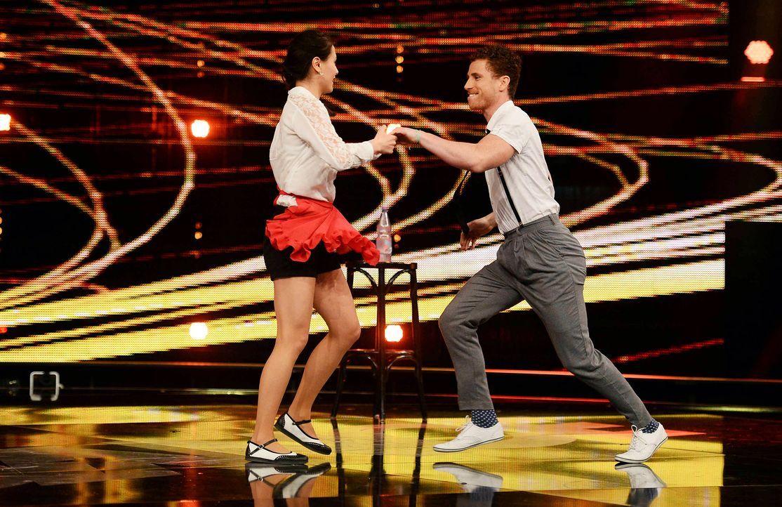 Got-To-Dance-Daniel-und-Claire-02-SAT1-ProSieben-Willi-Weber - Bildquelle: SAT.1/ProSieben/Willi Weber