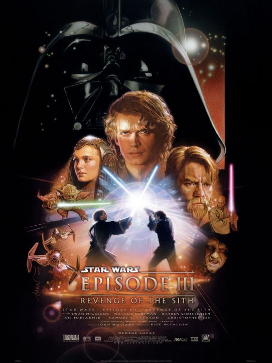 Star Wars: Episode III - Die Rache der Sith - Plakatmotiv - Bildquelle: Lucasfilm Ltd. & TM. All Rights Reserved.