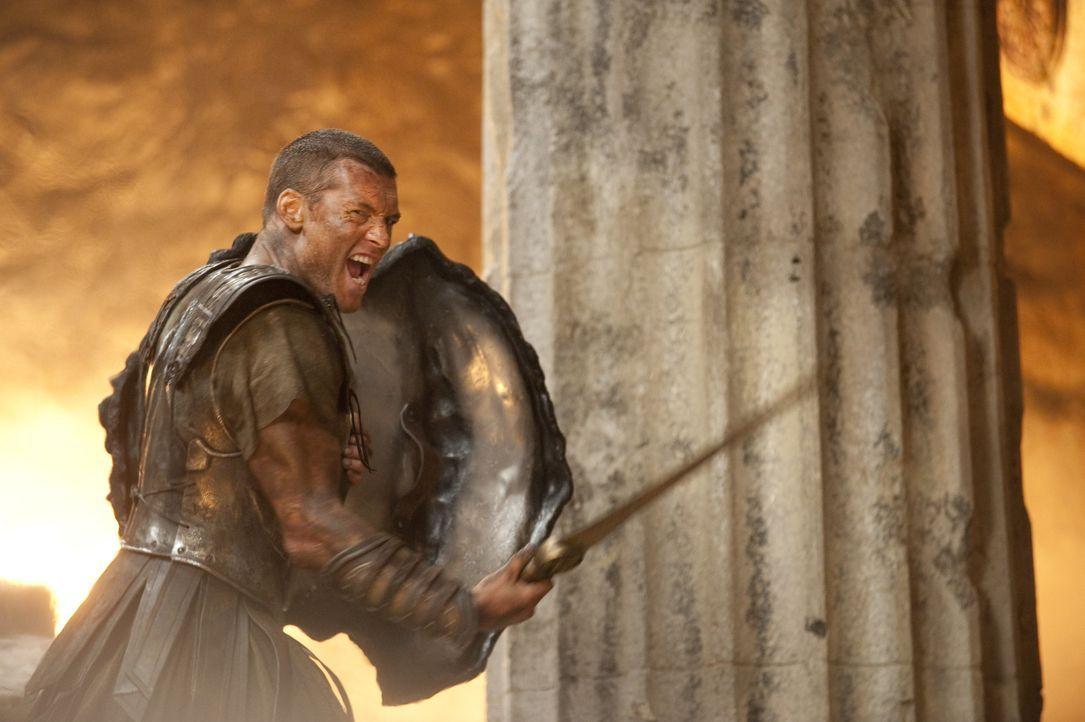 Geboren als Halbgott, doch aufgewachsen als Mensch: Perseus (Sam Worthington) will die Götter für immer besiegen ... - Bildquelle: 2010 Warner Bros.