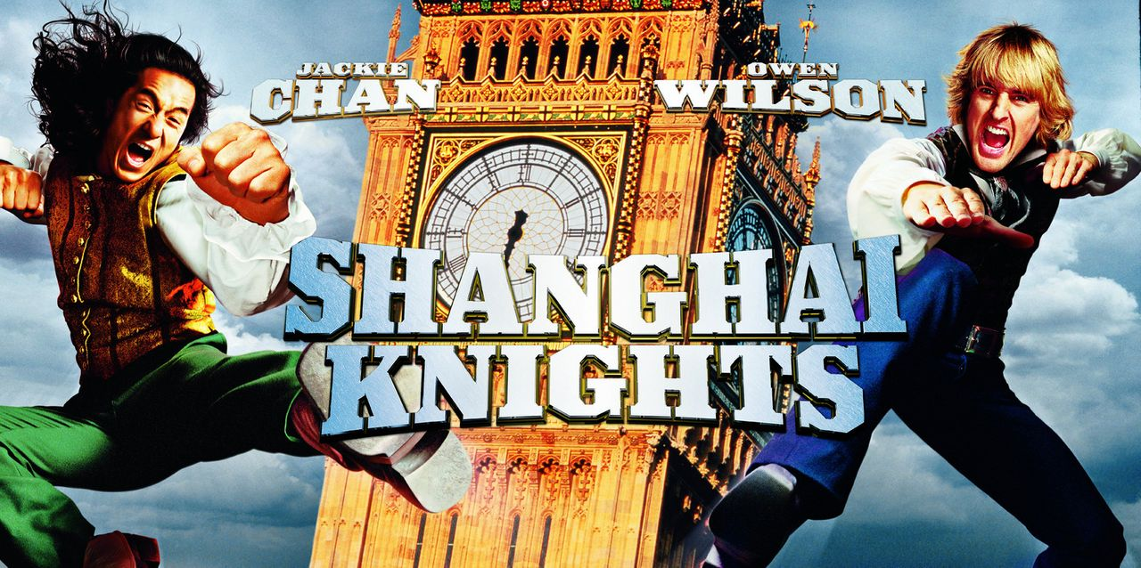 """Shanghai Knights"" mit Chon Wang (Jackie Chan, l.) und Roy O´Bannon (Owen Wilson, r.) ? - Bildquelle: 2002 Touchstone Pictures and Spyglass Entertainment Group, L.P."
