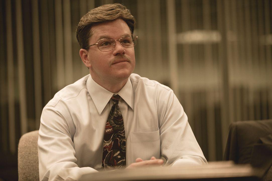 Das FBI bittet Mark Whitacre (Matt Damon) um Mithilfe bei der Beschaffung von Beweisen für die multinationalen Preisabsprachen, denn nur so kann ge... - Bildquelle: Warner Bros. Pictures