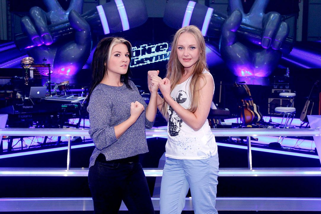 battle-lida-vs-mel-06-the-voice-of-germany-richard-huebnerjpg 1700 x 1133 - Bildquelle: SAT.1/ProSieben/Richard Hübner