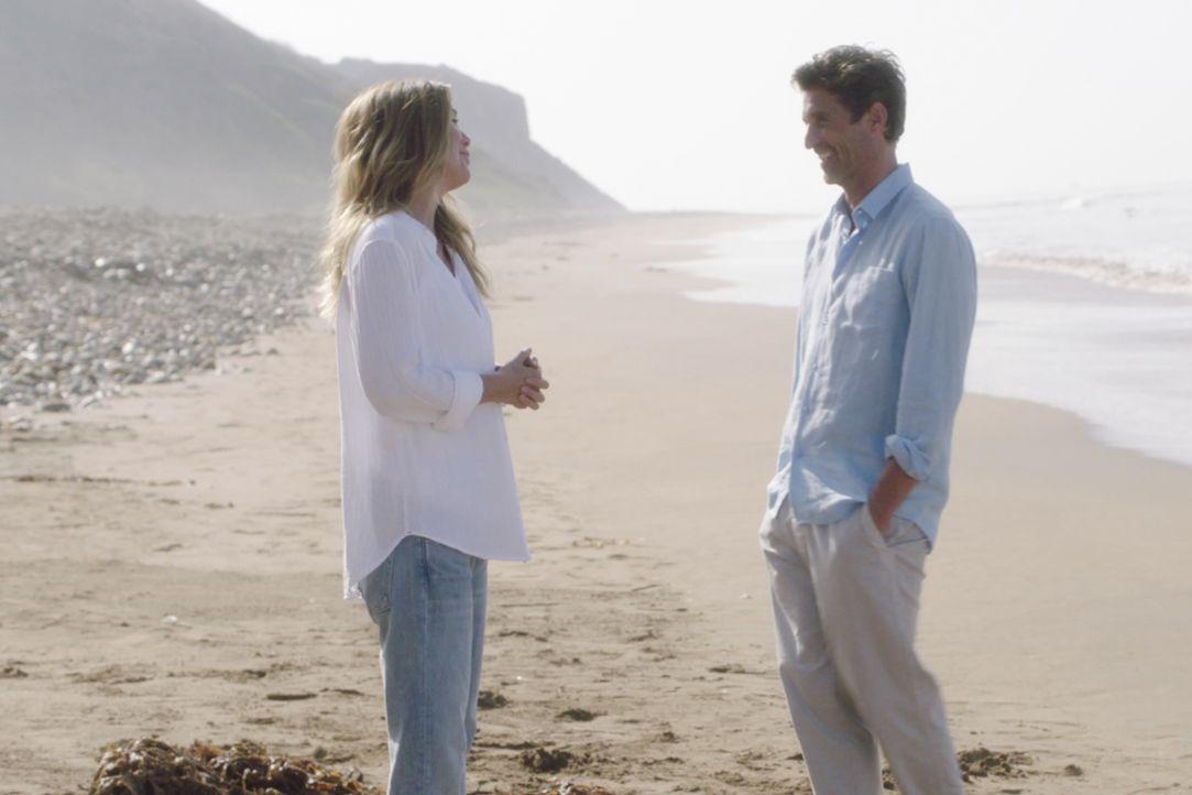 Dr. Meredith Grey (Ellen Pompeo, l.); Dr. Derek Shepherd (Patrick Dempsey, r.) - Bildquelle: 2021 American Broadcasting Companies, Inc. All rights reserved.