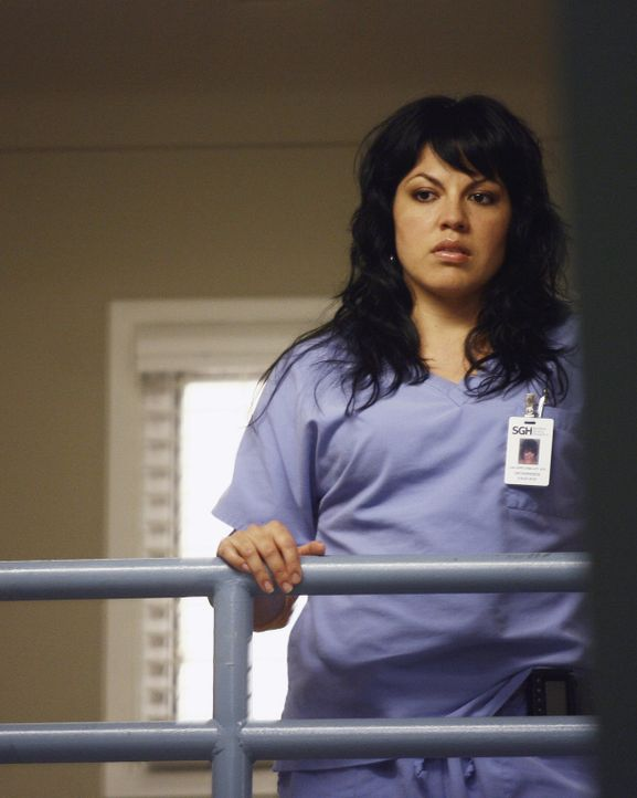 Callie (Sara Ramirez) wird immer misstrauischer, was George und Izzie angeht ... - Bildquelle: Scott Garfield 2007 American Broadcasting Companies, Inc. All rights reserved. NO ARCHIVE. NO RESALE.