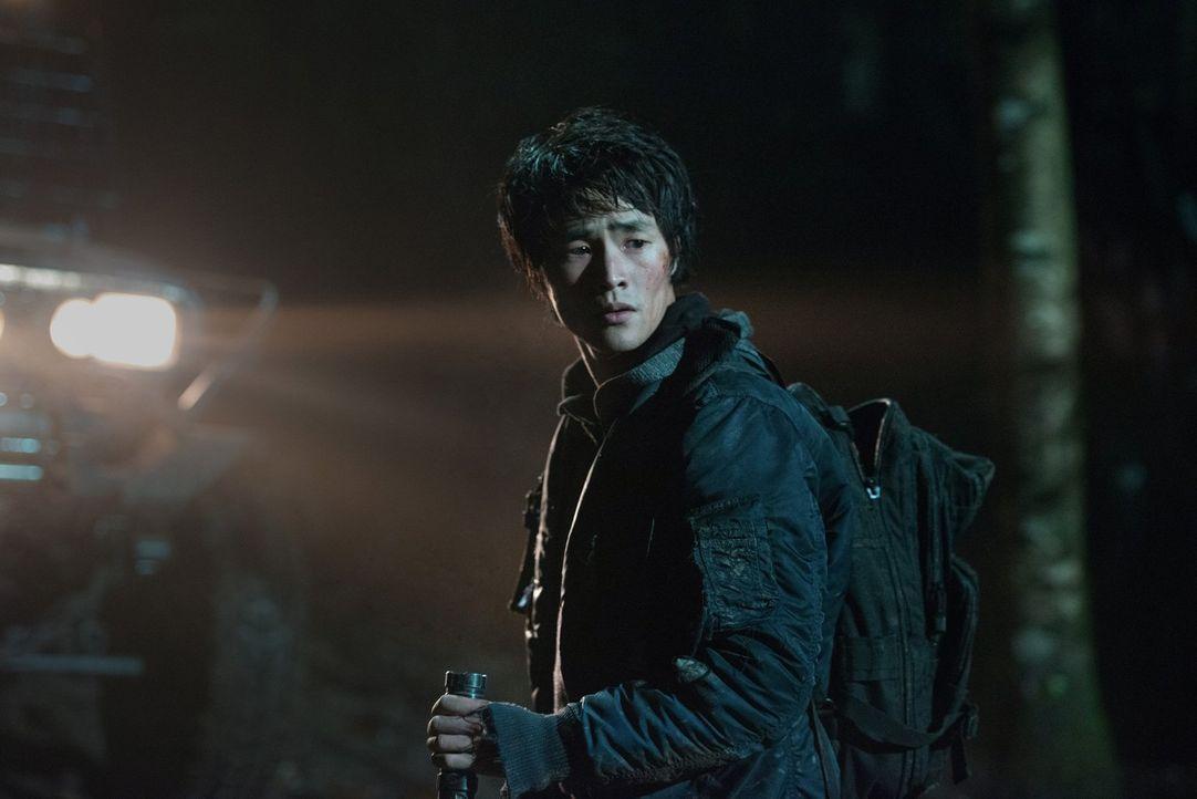 Monty (Christopher Larkin) muss innerhalb kürzester Zeit eine Entscheidung treffen, die über Leben und Tod entscheiden wird ... - Bildquelle: 2014 Warner Brothers