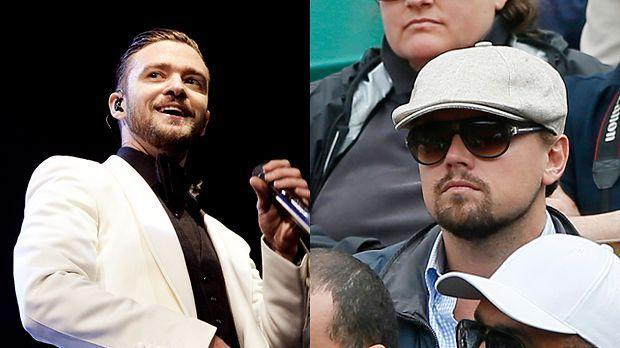 Top: Justin Timberlake+++Flop: Leonardo DiCaprio - Bildquelle: AFP