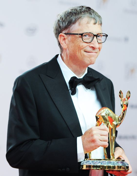 Bambi-Bill-Gates-13-11-14-dpa - Bildquelle: dpa