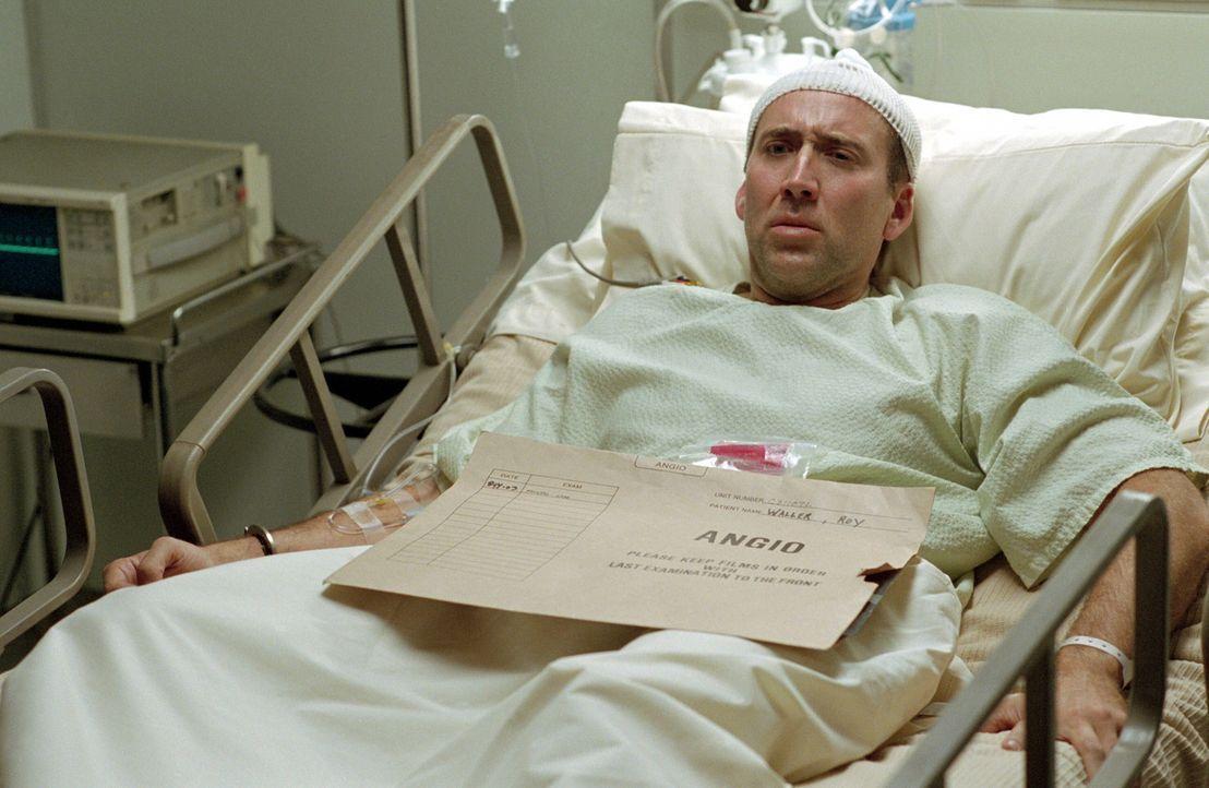 Seine Macken bringen ihn fast um den Verstand: der neurotische Gauner Roy (Nicolas Cage) ... - Bildquelle: Warner Bros. Pictures