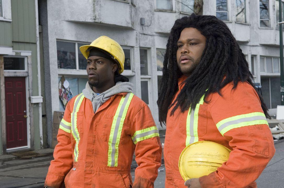 CJ (Kevin Hart, l.) und Mahalik (Anthony Anderson, r.) schlagen gnadenlos zurück ... - Bildquelle: The Weinstein Company. All Rights Reserved.