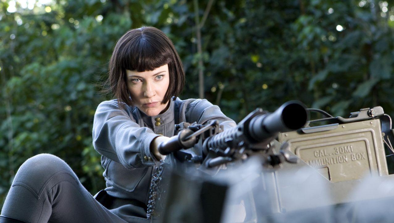 Setzt alles daran, um an den legendären Kristallschädel zu gelangen: die sowjetische Agentin Irina Spalko (Cate Blanchett) ... - Bildquelle: Lucasfilm Ltd. & TM. All Rights Reserved