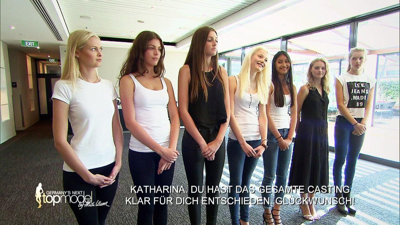GNTM-Stf10-Epi09-Casting-Heidi-Klum-Intimates-20-ProSieben - Bildquelle: ProSieben
