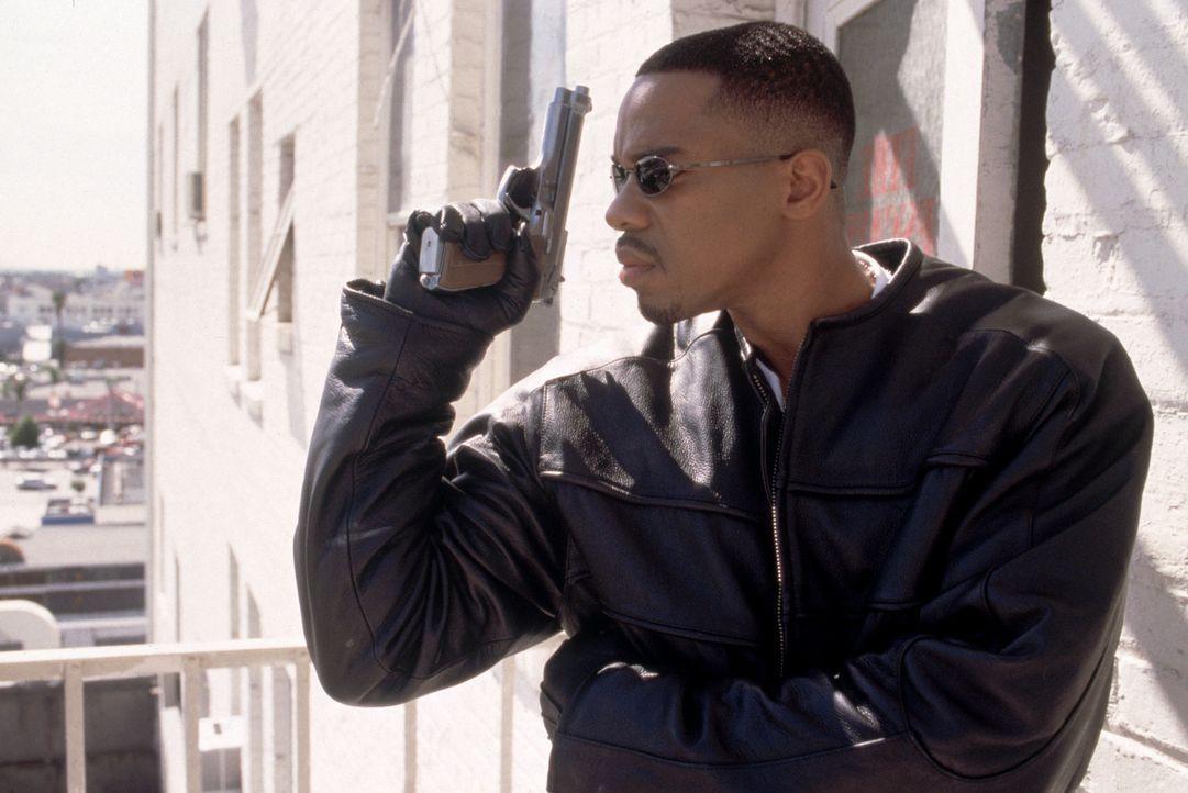 In L.A. wird ein populärer Hiphop-Musiker tot aufgefunden. Privatdetektiv McCrae (Duane Martin), dem Verblichenen in langjähriger Freundschaft ver... - Bildquelle: Strange Fruit Films