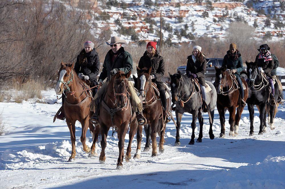 GNTM-Stf09-Epi08-Leben-auf-der-Ranch-28-ProSieben-Oliver-S - Bildquelle: ProSieben/Oliver S.